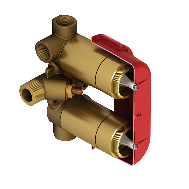R46 - 4-way Type T/P (thermostatic/pressure balance) ¾